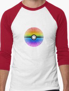 Catch the rainbow! Men's Baseball ¾ T-Shirt