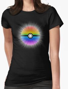 Catch the rainbow! Womens Fitted T-Shirt