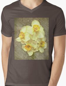 NARCISSUS BEAUTIFUL EYES (Daffodils) Mens V-Neck T-Shirt