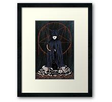 dead cape Framed Print