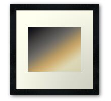SplitTones Framed Print