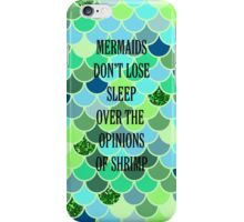 Mermaid's Don't Lose Sleep iPhone Case/Skin