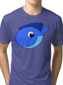 Moby Dock Tri-blend T-Shirt