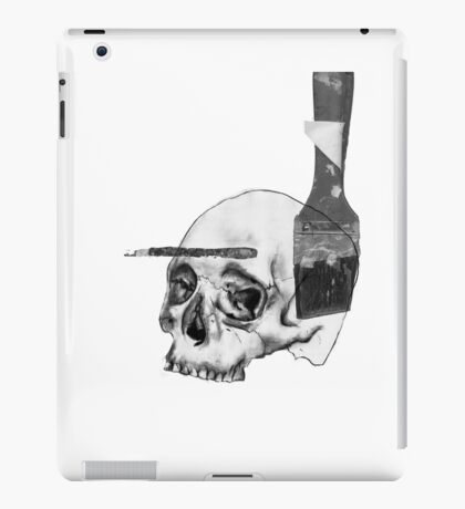 Greyscale Brush With Death iPad Case/Skin
