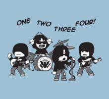 1, 2, 3, 4! One Piece - Short Sleeve