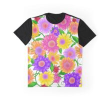 All About Flowers Graphic T-Shirt