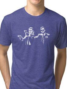 Michael Scarn and Bert Macklin Tri-blend T-Shirt