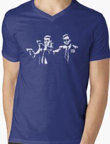 Michael Scarn and Bert Macklin Mens V-Neck T-Shirt