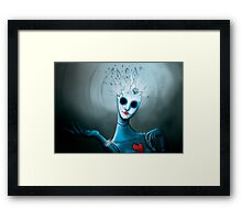 Blowup doll Framed Print