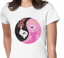Why Can't We Be Friends? Womens Fitted T-Shirt