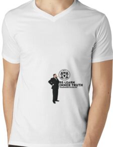 Relearn Mens V-Neck T-Shirt