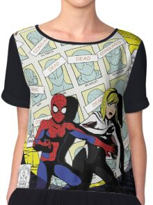 Days of Spider-Verse Chiffon Top