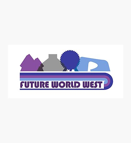 Future World West Photographic Print