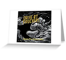 drive by truckers black wulan Greeting Card