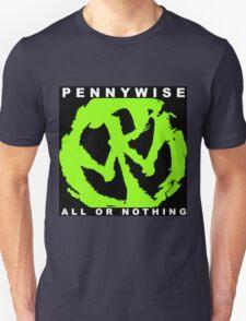 pennywise nothing black wulan Unisex T-Shirt