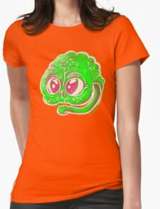 Goblin Face Womens Fitted T-Shirt