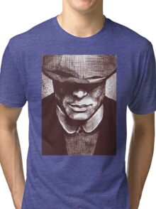 Peaky Blinders - Tommy Shelby Tri-blend T-Shirt