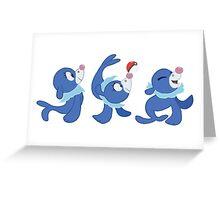 Popplio Sticker Pack Greeting Card