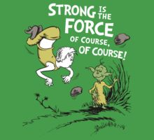 Strong is the Force of Course! Baby Tee