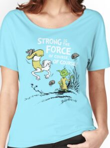 Strong is the Force of Course! Women's Relaxed Fit T-Shirt