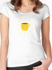 Good morning sunshine Women's Fitted Scoop T-Shirt