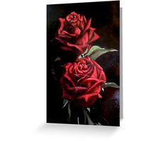 study dark light Greeting Card