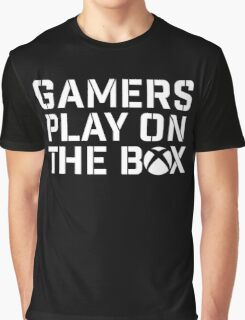 Gamers Play On The Box Graphic T-Shirt