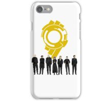 Section 9 Gold Seal - Ghost in the Shell iPhone Case/Skin