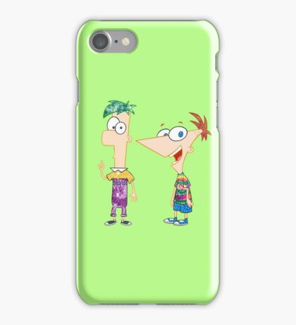 Phineas and Ferb iPhone Case/Skin