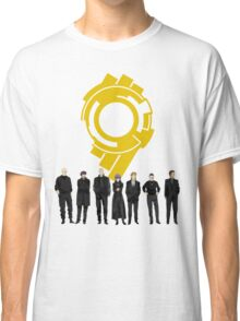Section 9 Gold Seal - Ghost in the Shell Classic T-Shirt