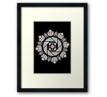 Still Alive (Black Version) Framed Print