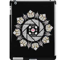 Still Alive (Black Version) iPad Case/Skin