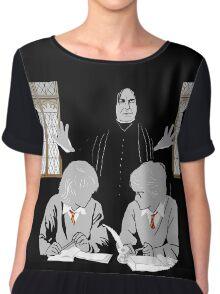 Discipline - Potter, Weasley, Snape Chiffon Top