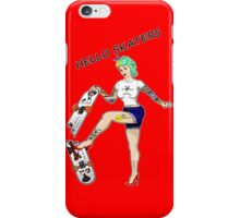 Hello Skaters Psychobilly Girl Pin Up iPhone Case/Skin