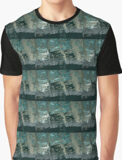 Playful Abstract Reflections Graphic T-Shirt