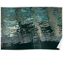 Playful Abstract Reflections Poster