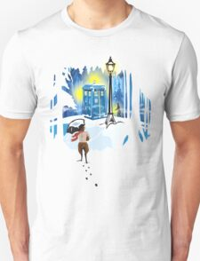 The Lion, The Doctor, and the Tardis T-Shirt