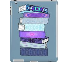 Stack of Blue Books iPad Case/Skin