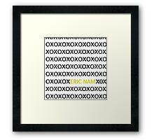 Eric Nam - XOXO Framed Print