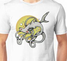 Hammerhead Shark Out of Water  Unisex T-Shirt