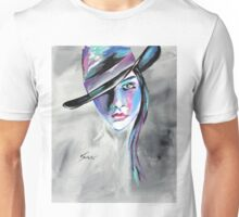 Bonnie - Cowgirl Art by Valentina Miletic Unisex T-Shirt