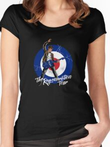 regeneration tour 11th Women's Fitted Scoop T-Shirt