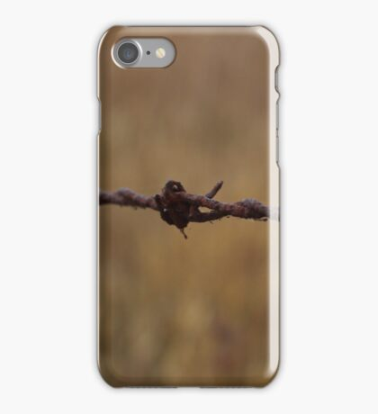 Barbed Wire in Decay iPhone Case/Skin