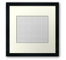 Shapes3 Framed Print