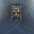 Bone Icon, Ghost Moth by modernlifeform