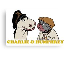 Charley and Humphrey Canvas Print