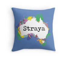 Straya Throw Pillow
