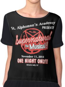 Supernatural The Musical Chiffon Top