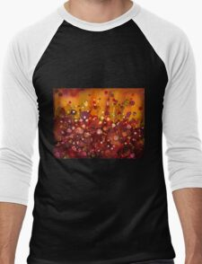 Spring Garden - abstract painting Men's Baseball ¾ T-Shirt