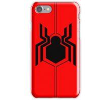 Civil War Spiderman Logo iPhone Case/Skin